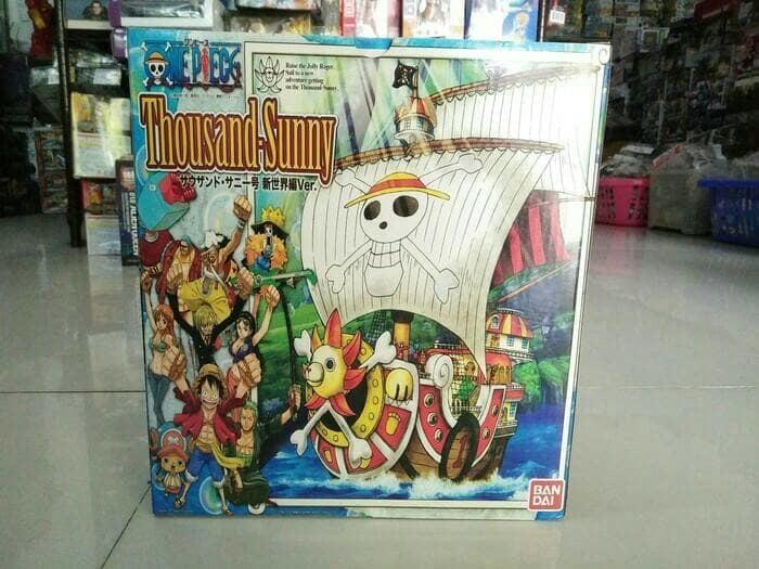 BEST SELLER!!! kapal thousand sunny kapal one piece figure one piece strawhat pirates - RzB0Hu