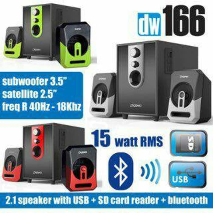 Speaker Aktif Portable Bluetooth Karaoke and USB Dazumba DW166
