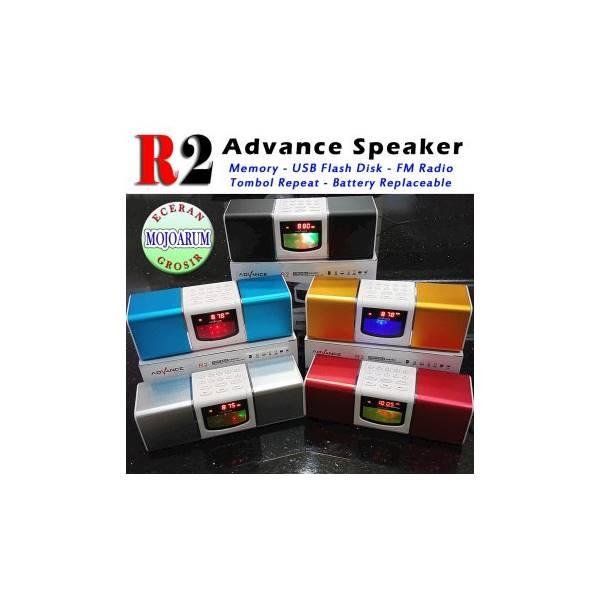 Hot Promo ORIGINAL Advance R2 Speaker Portable Tombol Repeat FM Radio Pilih Lagu