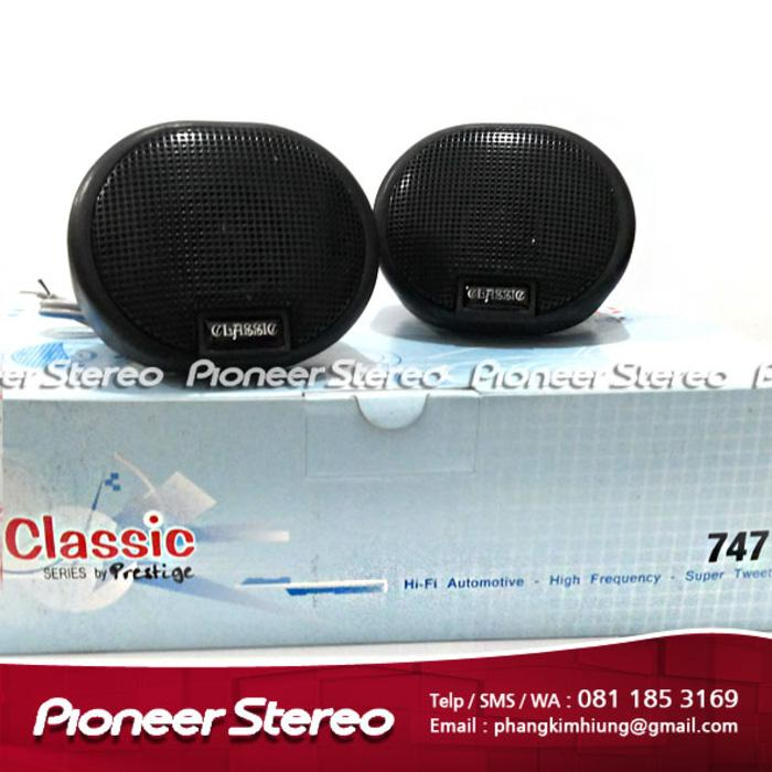 Referensi Speaker Aktif PRESTIGE CLASSIC 747 TWEETER
