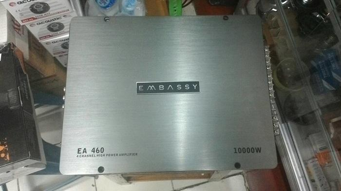 power 4 channel embassy EA 460