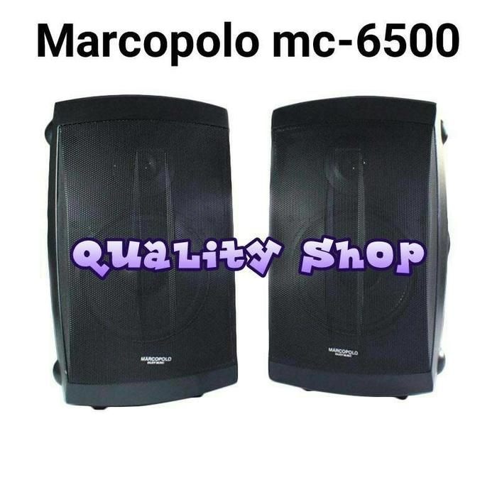 Referensi Speaker Aktif SPEAKER GANTUNG MARCOPOLO 6,5 INCH MC-6500 450 watt ( 2 unit )