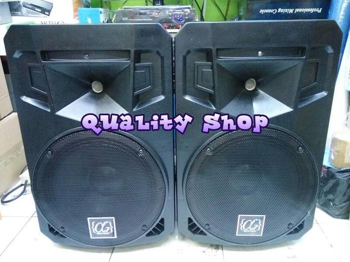 ORIGINALS  speaker pasif 12 inch alphaseven ( 2 unit )