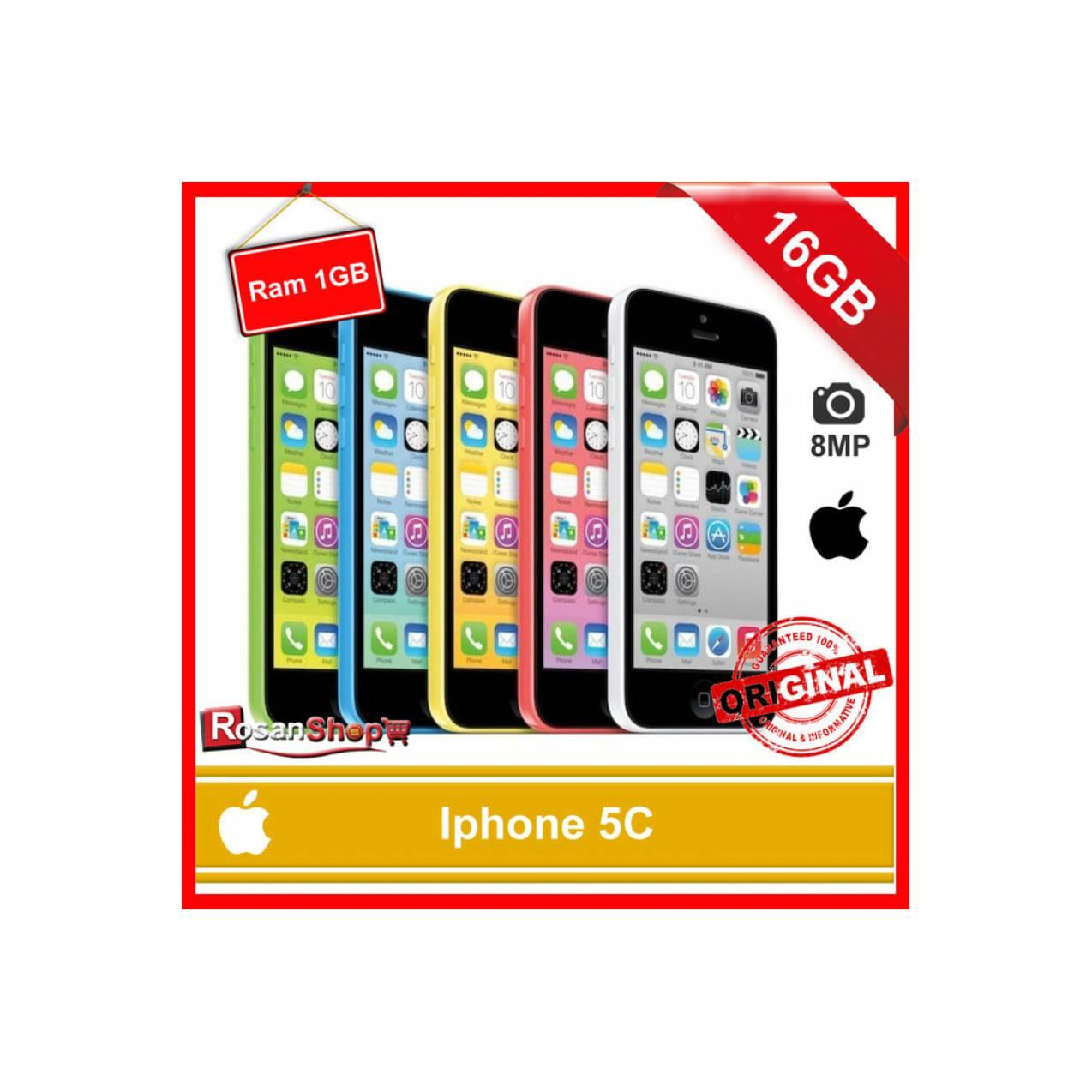IPHONE 5C 16Gb Ram 1Gb 8MP Garansi 1thn Original Apple - Putih