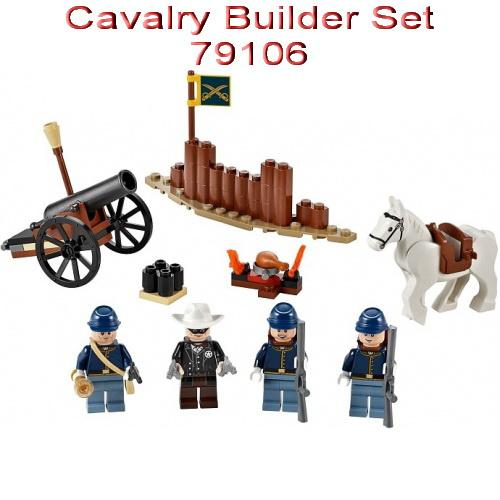 BEST SELLER!!! Toys LEGO Lone Ranger Cavalry Builder Set 79106 - Dv5c67