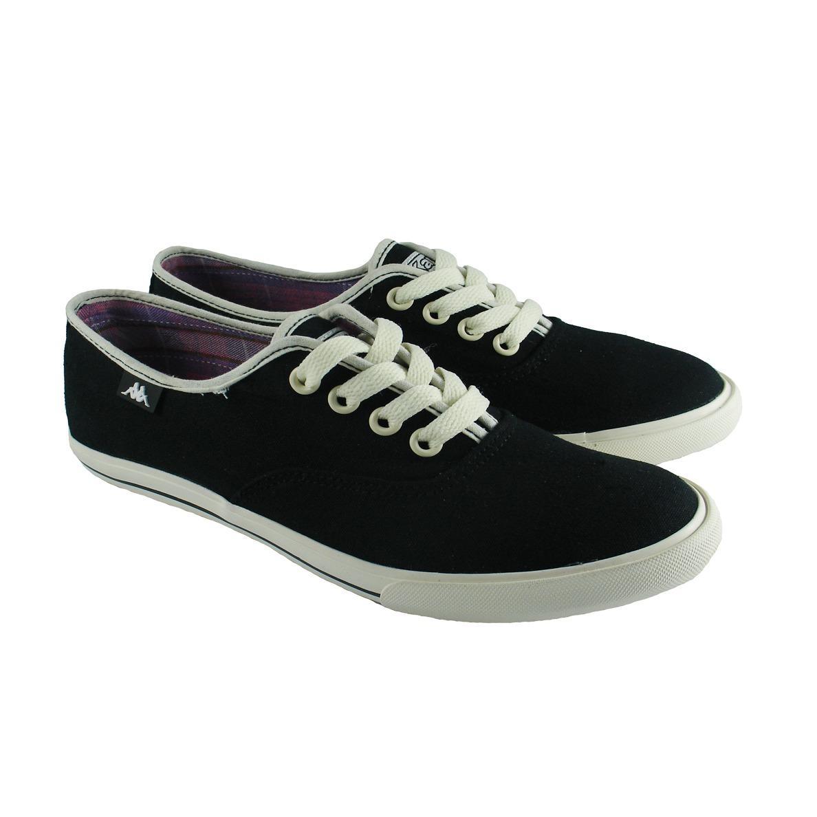 Kappa K12DFC068 Ladies Lace Sneakers - Black