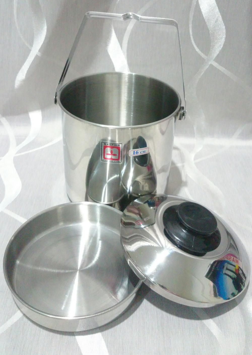 MASPION Single Food Carrier / RANTANG TUNGGAL MASPION 16 CM di lapak kitchenware_id kitchenware_id