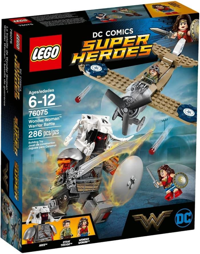 BEST SELLER!!! Lego SuperHeroes 76075 Wonder Woman Warrior Battle - KQ7jRx