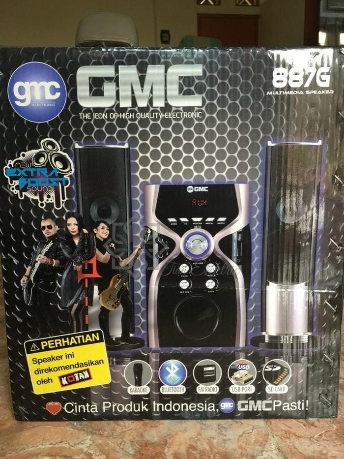GMC-887G Multimedia Speaker (Bluetooth) 2.1