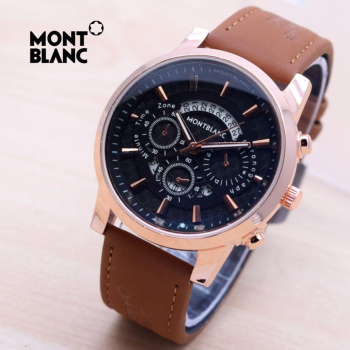 COD Paoshop MONTBLANC MB026 DARK BROWN ROSEGOLD