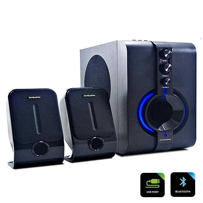 Simbadda Multimedia Speaker CST 1800N Plus FM USB Bluetooth