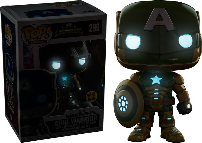 BEST SELLER!!! Funko POP! Marvel - Contest of Champions - Civil Warrior Secret Empire - vt4qsc