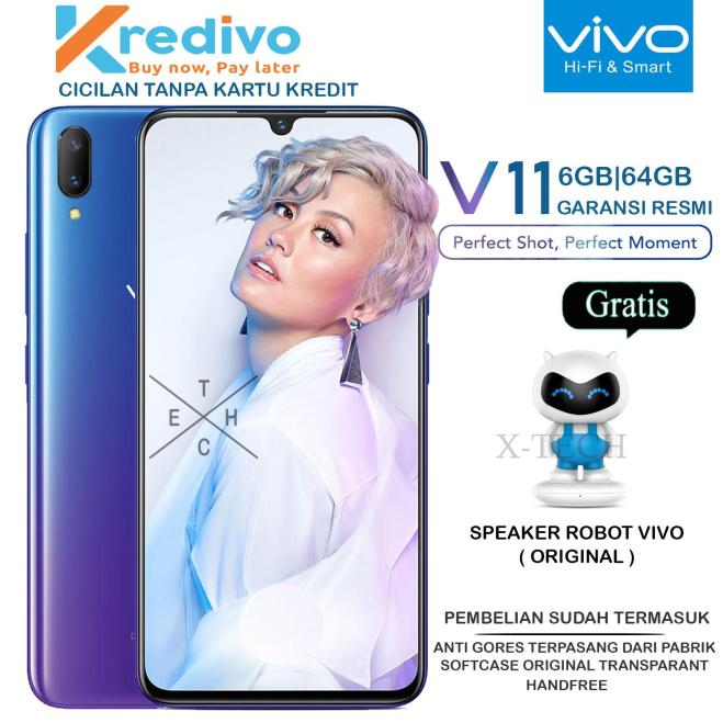 VIVO V11 6GB/64GB - GARANSI RESMI