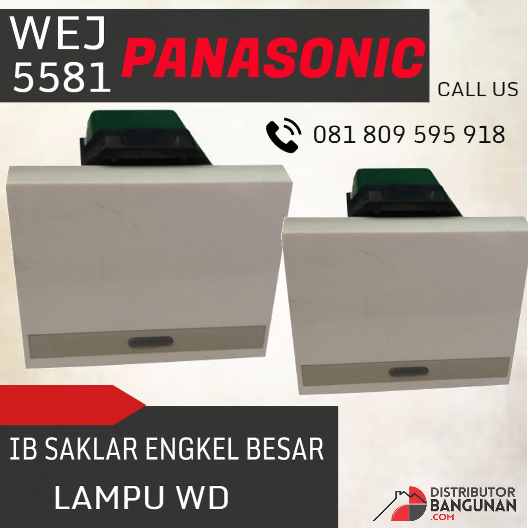 Referensi Harga Daftar Saklar Lampu Panasonic Oktober 2018 Paling Seri Ib Engkel Besar Wd Wej 5581