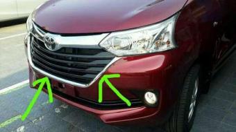 jual bumper grand new veloz avanza bandung pencarian termurah garnish grill depan mobil toyota harga penawaran hanya rp160 290