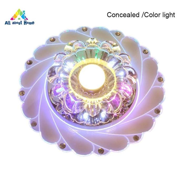 ABH LED Ceiling Light Lamp Round Energy Saving For Corridor Home Living Room Kitchen
