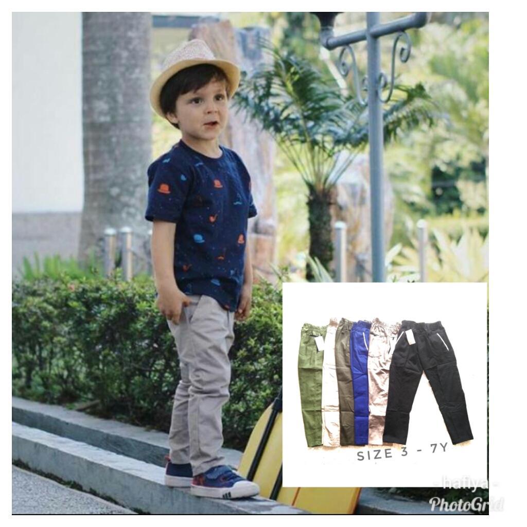 Celana Panjang Chino-Katun 1 SD 10 TH