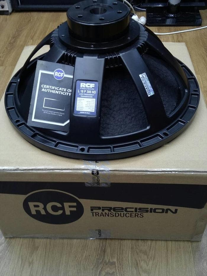 ORIGINAL  Speaker RCF 18 Inch L18P300 ND Neodyum