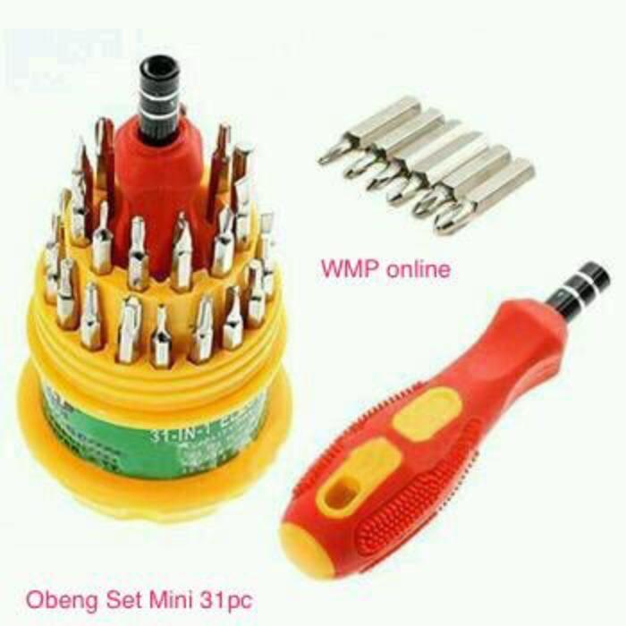 Obeng Set Mini 31 In 1 WMP-0680