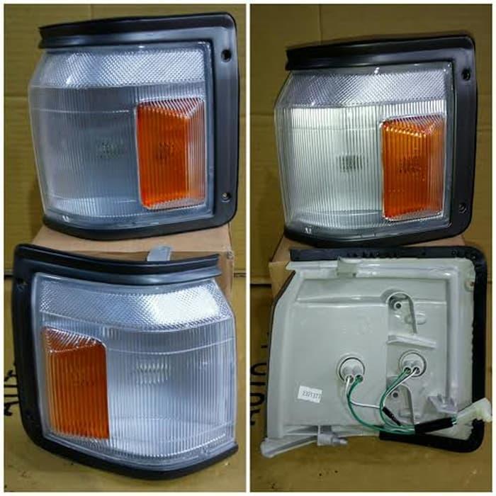 212-1566-36A Corner Lampu/ Lampu Sein Kijang Grand th 1992 sd 1997 | ( lampu  mobil hid plafon depan rem sorot led h4 kabut fog lamp tembak variasi strobo rem toyota innova hid avanza osram )