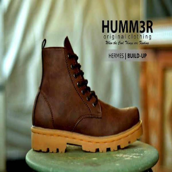 Sepatu Boots Hummer Hermes Build Up