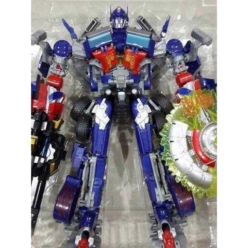 Mainan - Optimus Prime change robot transformer robot mobil