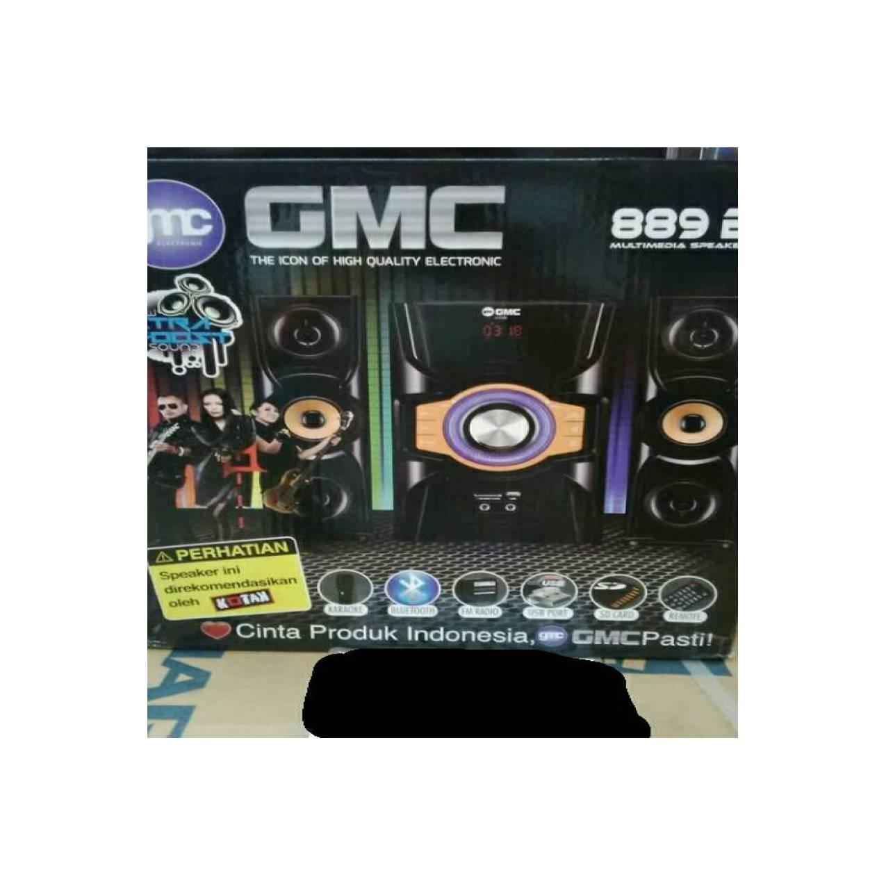 GMC SPEAKER BLUETOTH TYPE 889B SUARA MANTAP