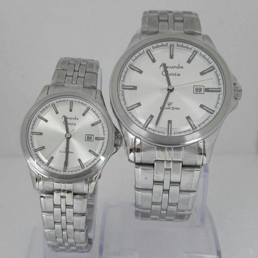 Pilihan Harga Jam Tangan Alexandre Christie Cowok Terbaik Dan 01 Couple Pria Wanita 8402 Original Arloji Pasangan Cewek Terbaru
