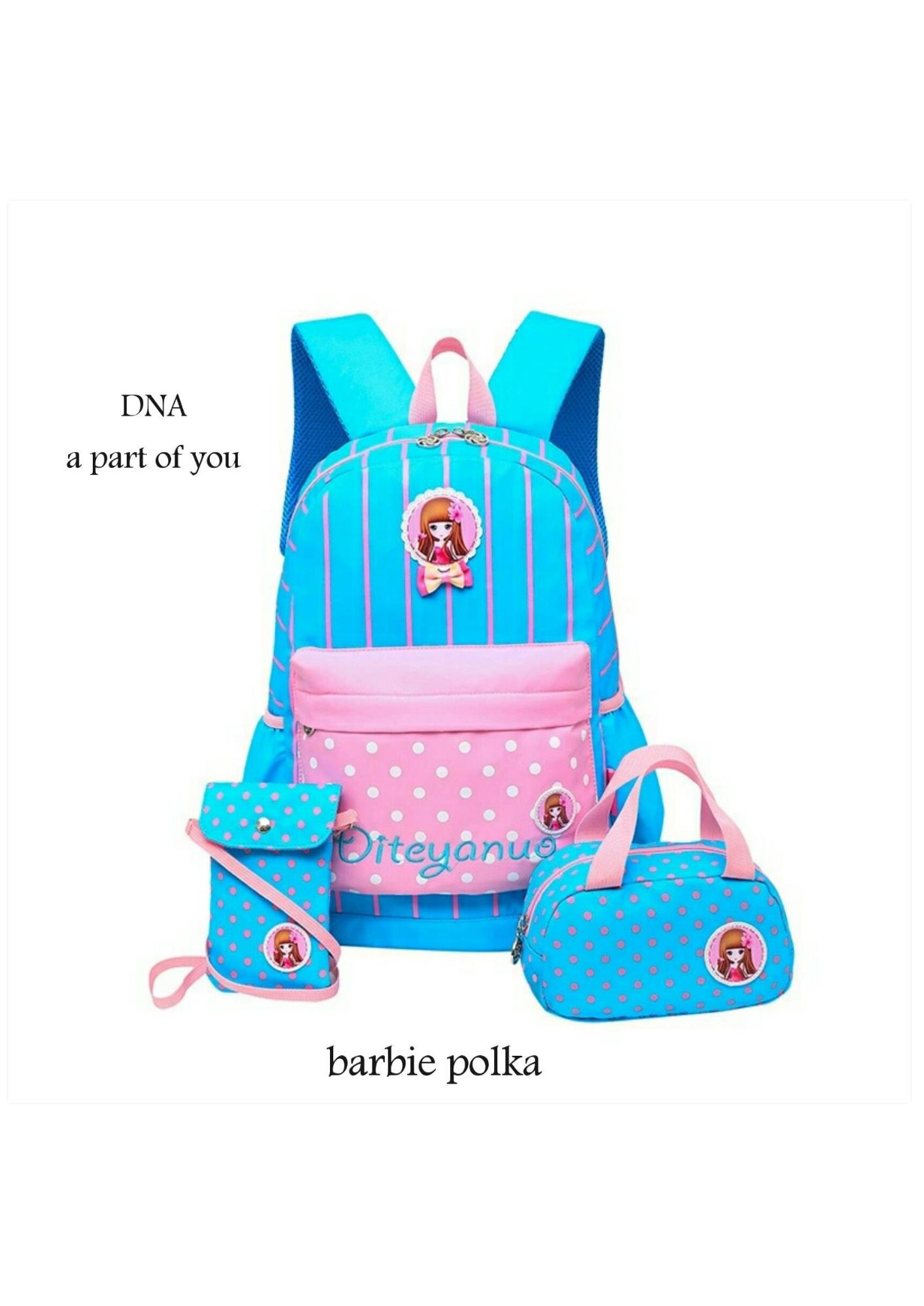 Backpack Barbie Polka Welldone