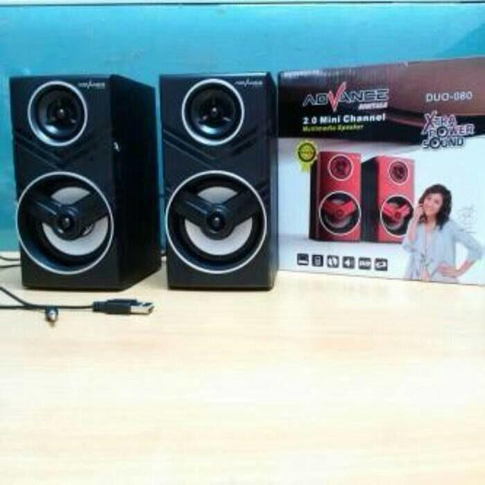 Referensi speaker New Advance duo-080 / speaker Laptop speaker aktif / speaker laptop / speaker super bass