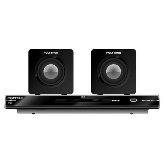 Referensi Polytron Home Theatre Mini DTIB2367C + Speaker - Hitam speaker aktif / speaker laptop / speaker super bass