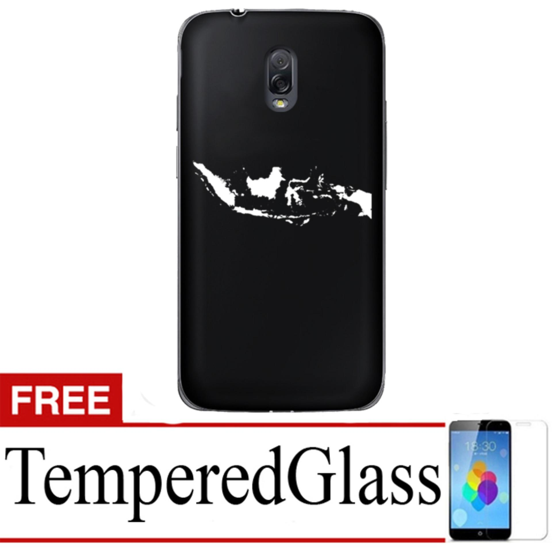 Case Presiden Jokowi for Samsung Galaxy J7 Plus + Free TemperredGlass - Hitam