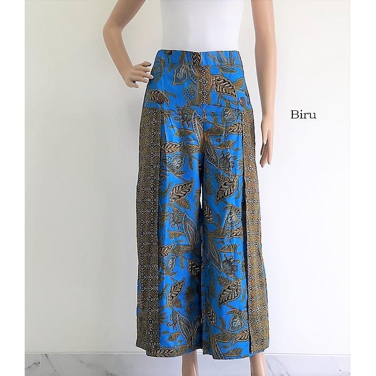 pitakita Celana Batik Kulot Almira - Biru