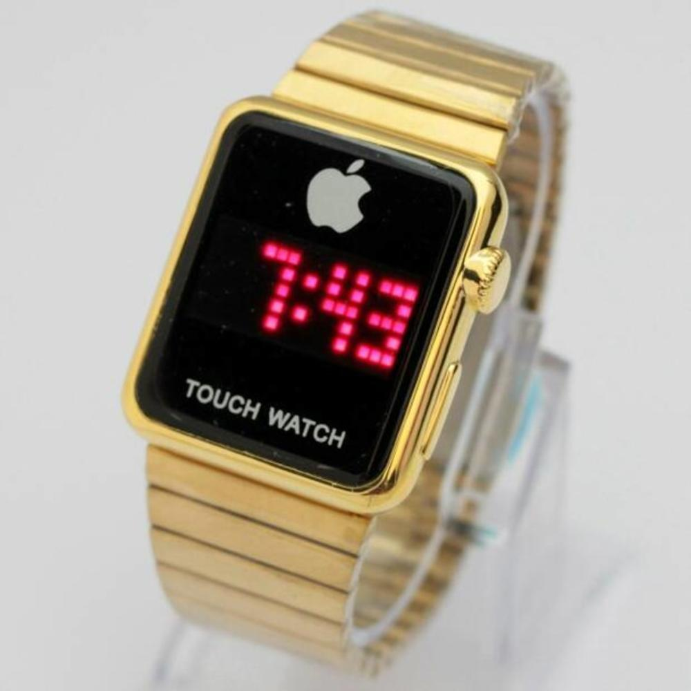 Jam Tangan UNISEX Pria atau Wanita Apple touch DIGITAL Exclusive Branded Import Super