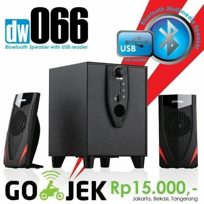 Referensi SPEAKER DAZUMBA DW-066 BLUETOOTH USB speaker aktif / speaker laptop / speaker super bass