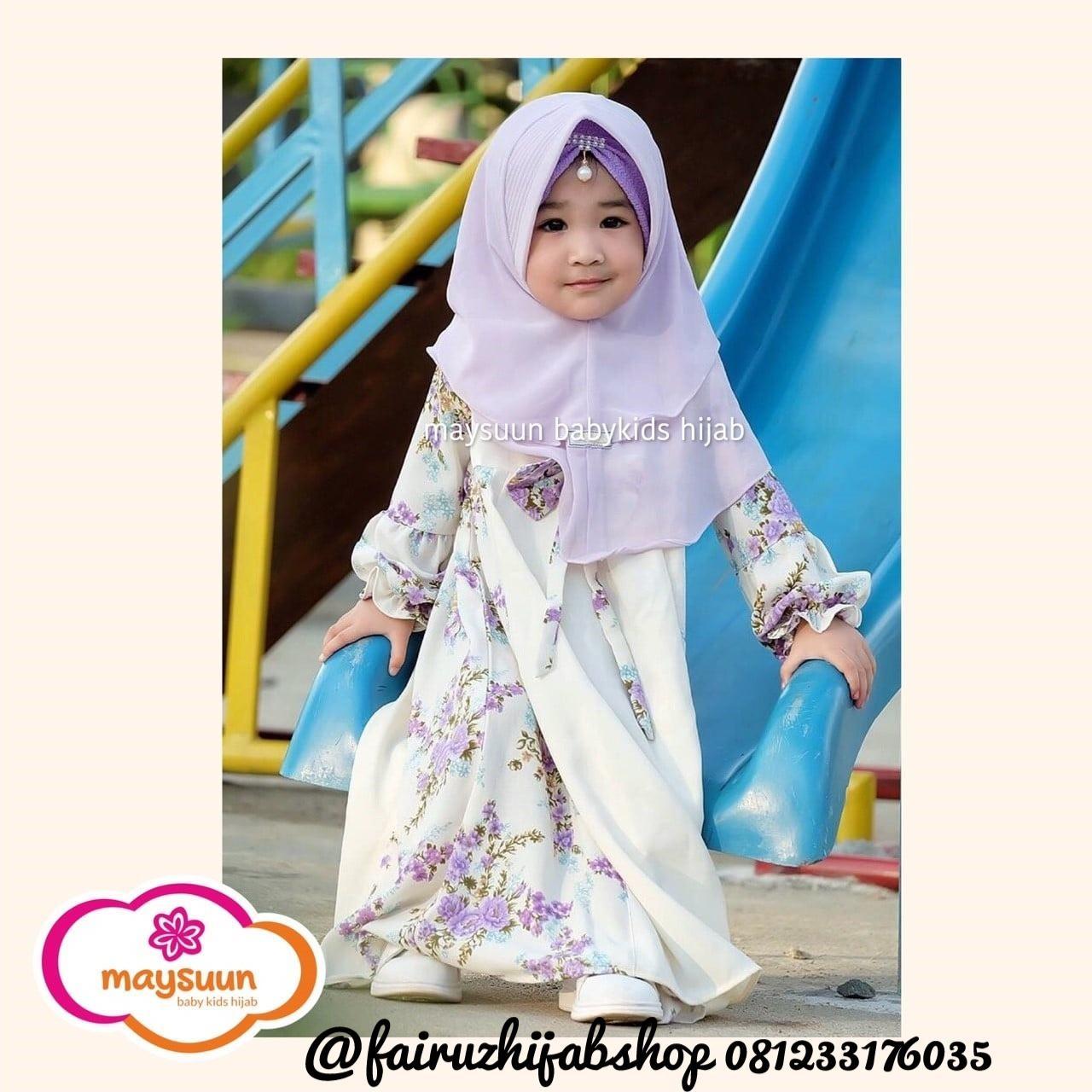 Daftar Harga Baju Gamis Syari Anak Terbaru 2019