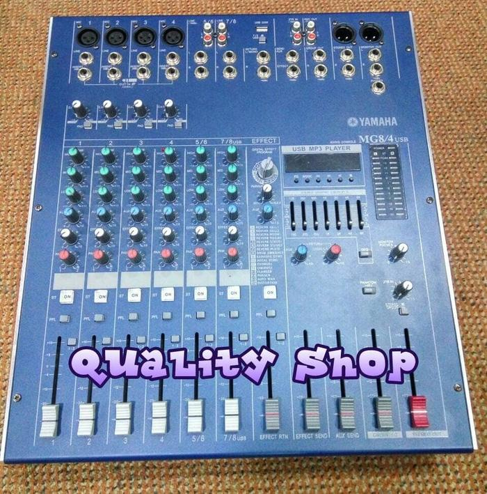 ORIGINALS  Power mixer yamaha mg8-4 usb 8 channel 900 watt