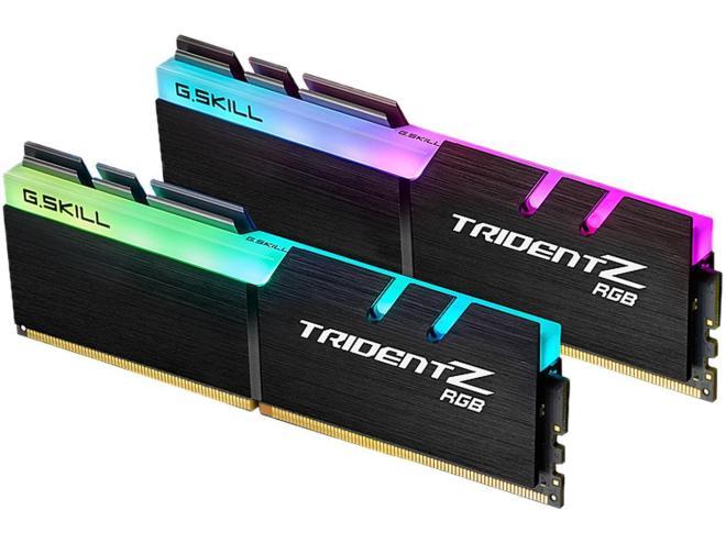 G.Skill TridentZ RGB Series 32GB (2 x 16GB) DDR4 3866Mhz PC 30900 memory PC RGB [F4-3866C18D-32GTZR] - Hitam