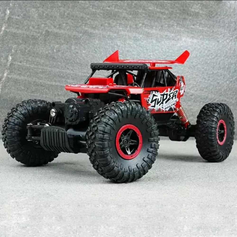 RC Mobil Rock Crawler Off Road 4WD Mainan Remote Control