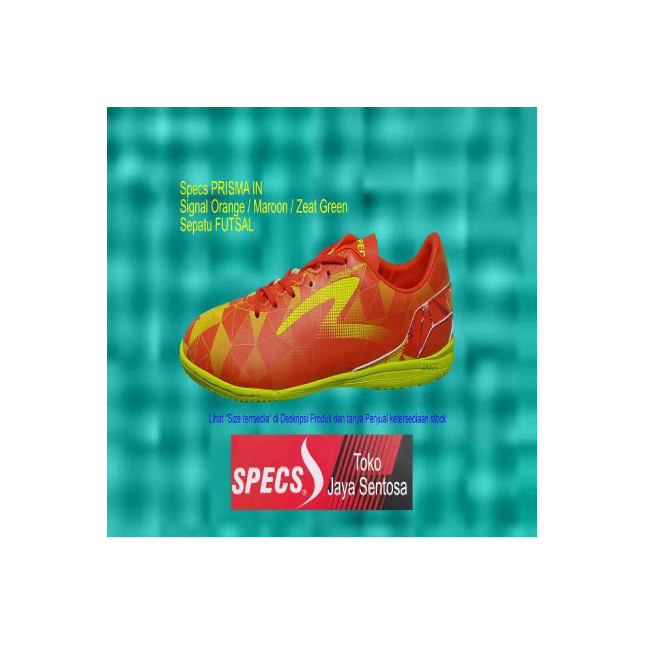 Sepatu Futsal SPECS PRISMA IN Orange