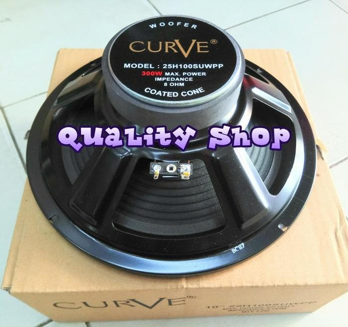 Hot Promo Speaker Woofer 10 Inch Curve 300 watt Murah