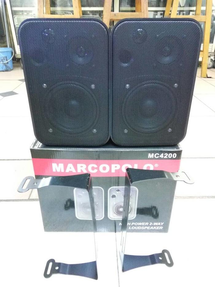 ORIGINALS  speaker pasif marcopolo mc 4200 (4 inch)220 watt