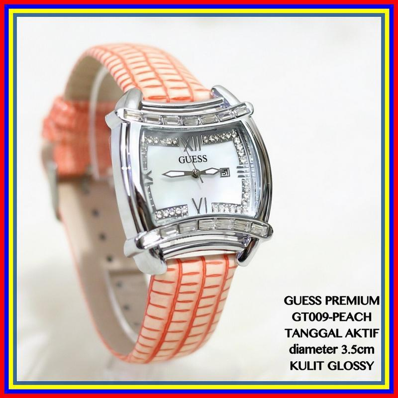 Jam Tangan Model GUESS PREMIUM Jakarta Analog Fashion Aksesoris New G2518