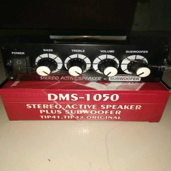 KIT POWER AMPLIFIER SPEAKER AKTIF DMS-1050 PLUS SUBWOOFER