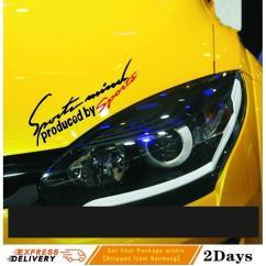 Cutting Sticker Grand New Avanza Top Speed Veloz Jual Aksesoris Stiker Body Magnet Lazada Co Id