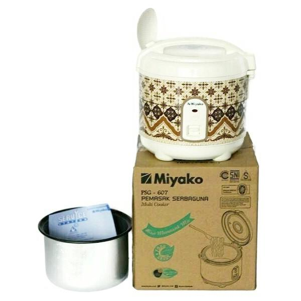 Miyako Rice Cooker Magic Com Psg 607 0-6 Liter Penanak Nasi Kecil Mini - Clgobn