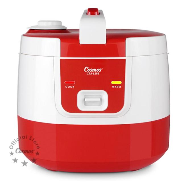 Cosmos Harmond CRJ-6288 - Rice Cooker 2 L (Red)