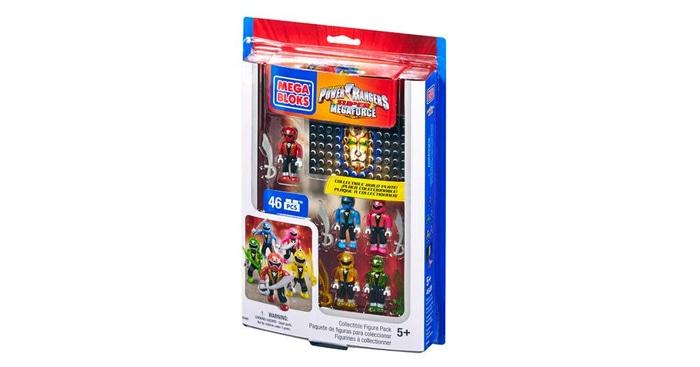BEST SELLER!!! Lego Mega Block Power Rangers Mega Force Original- Figure Power Ranger - F4Bm1Q
