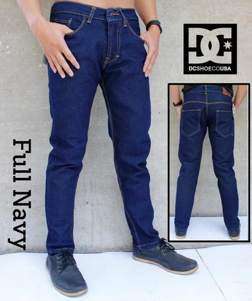 Celana Jeans Full Navy DC001