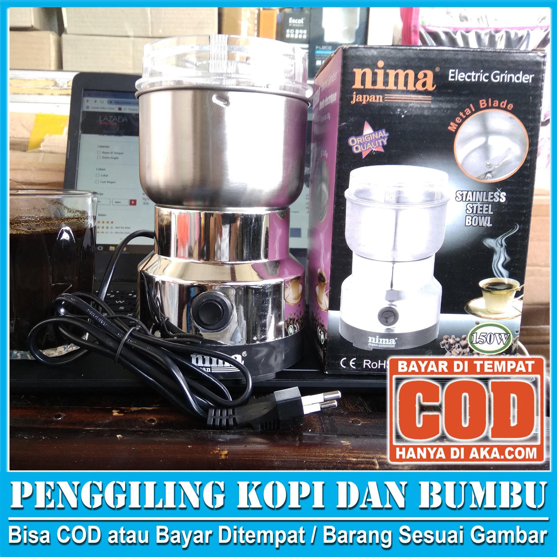 COFFEE GRINDER LISTRIK NIMA, GILINGAN KOPI PENGGILING KOPI ORIGINAL, PENGHANCUR BIJI KOPI,  - REAL PICTURE